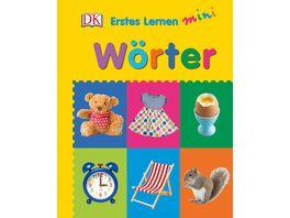 Buch Dorling Kindersley Verlag Erstes Lernen Mini Woerter