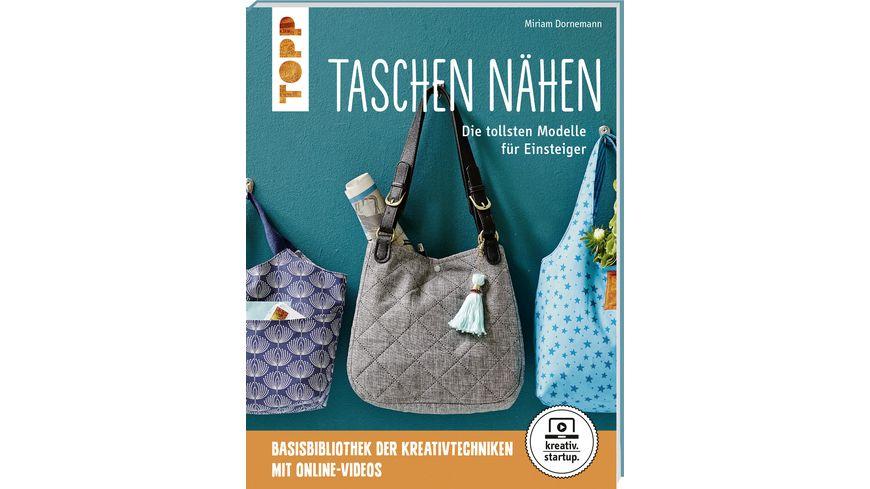 Buch frechverlag Taschen naehen kreativ startup
