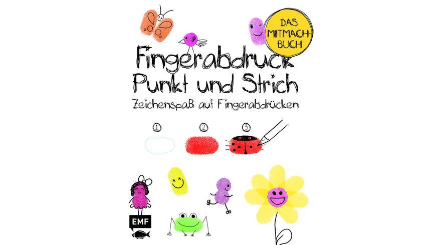 Buch Edition Michael Fischer Fingerabdruck Punkt Und Strich