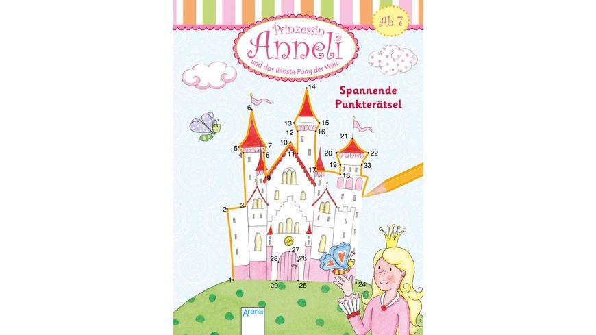 Buch ARENA Prinzessin Anneli und das liebste Pony der Welt Spannende Punkteraetsel
