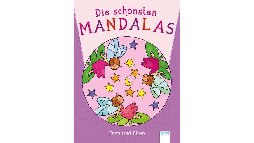 Buch ARENA Die schoensten Mandalas Feen und Elfen