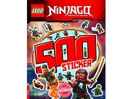 Buch AMEET Verlag LEGO NINJAGO 500 Sticker Band 2