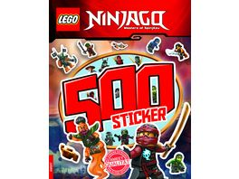 LEGO NINJAGO 500 Sticker Band 2