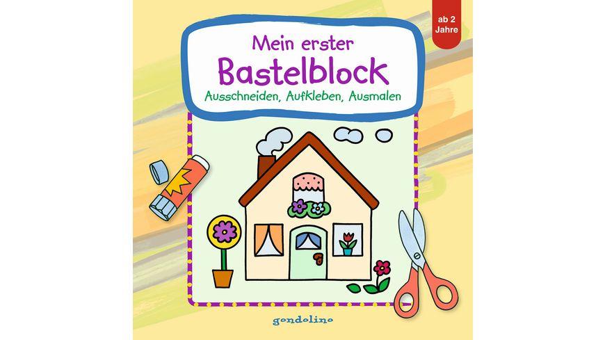 Buch gondolino Mein erster Bastelblock Haus