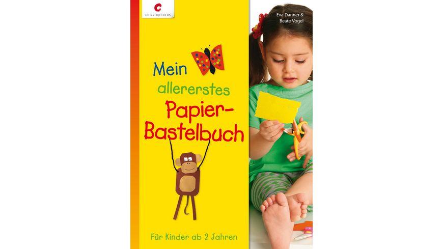 Buch Christophorus Verlag Mein allererstes Papier Bastelbuch