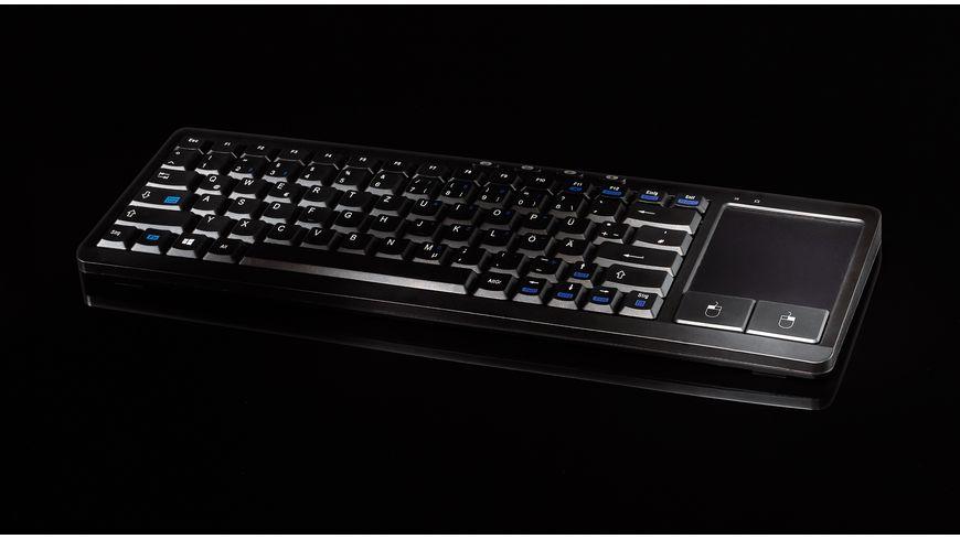 Vivanco Tastatur IT KB FM Touch kabellos