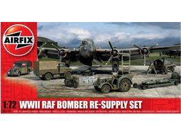Airfix 1505330 Modellbausatz WWII Bomber Re Supply Set