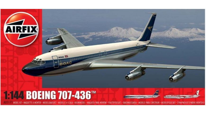 Airfix 1505171 Modellbausatz Boeing 707 1 144