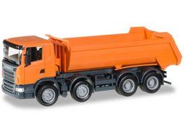 Herpa 306386 Scania R Rundmulden LKW 4 Achs