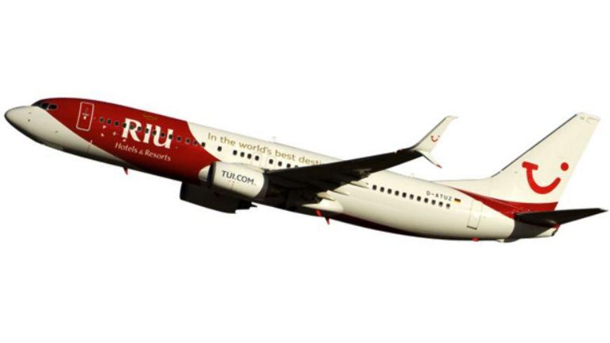 Herpa TUIfly Boeing 737 800 RIU Hotels Resorts
