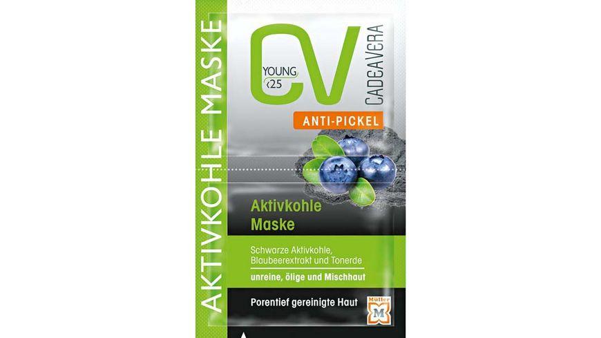 CV Young Anti Pickel Aktivkohle Maske