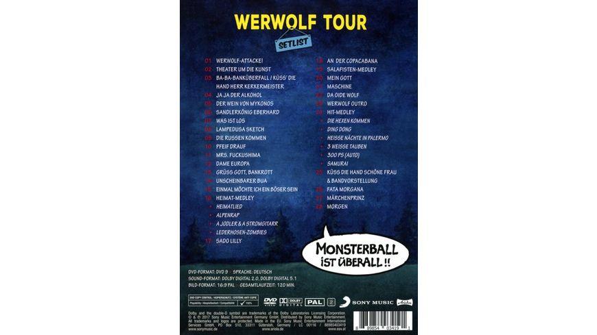 Werwolf Attacke Monsterball ist ueberall Li