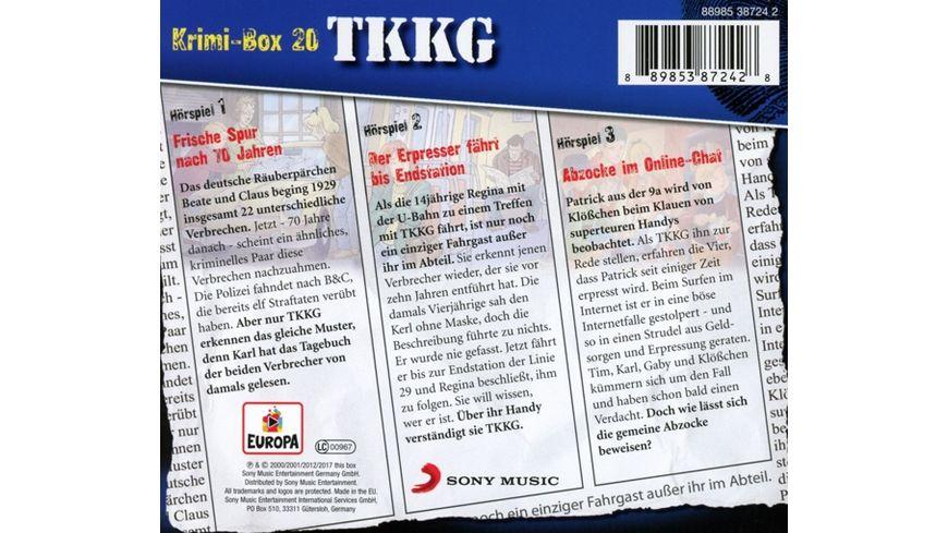 Krimi Box 20 Folgen 119 129 179