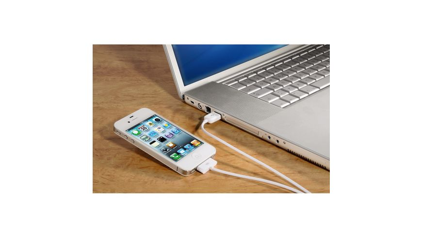 USB Lade Sync Kabel fuer Apple iPod iPhone iPad