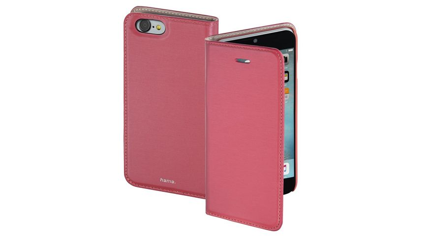 Booklet Slim fuer Apple iPhone 7 Pink