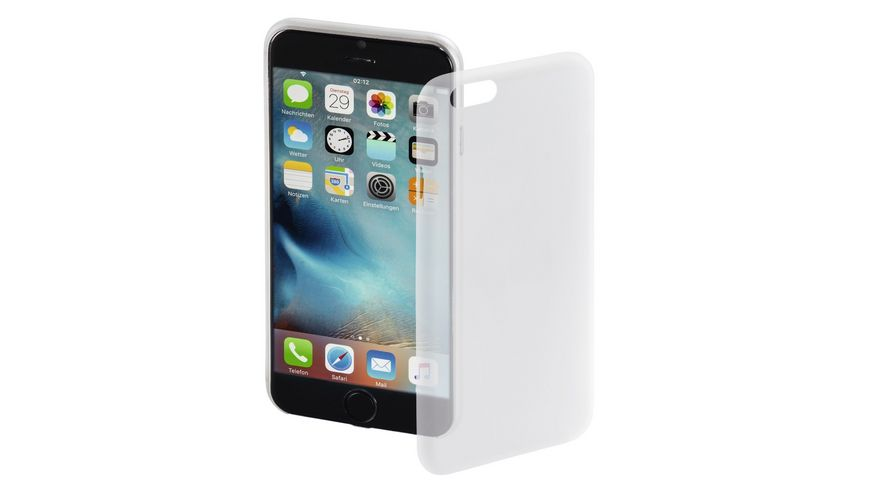 Cover Ultra Slim fuer Apple iPhone 7 Weiss