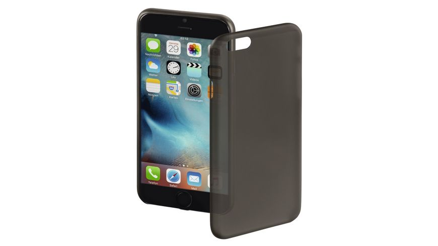 Cover Ultra Slim fuer Apple iPhone 7 Schwarz