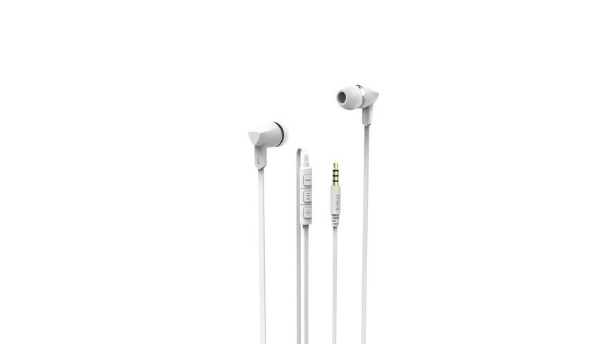 In Ear Headset Basic Weiss
