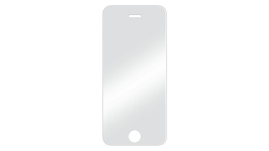 Schutzglas fuer Apple iPhone 5 5s 5c SE
