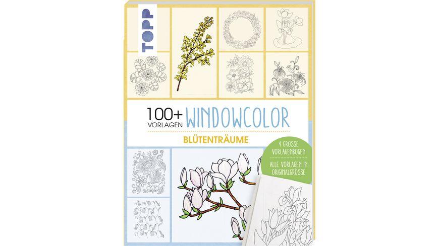 Vorlagenmappe Windowcolor Bluetentraeume