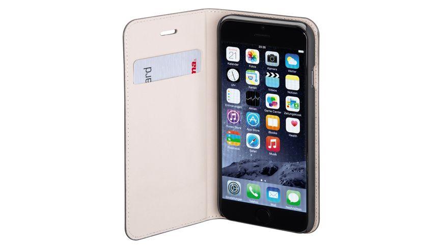 Booklet Slim fuer Apple iPhone 6 Dunkelgrau