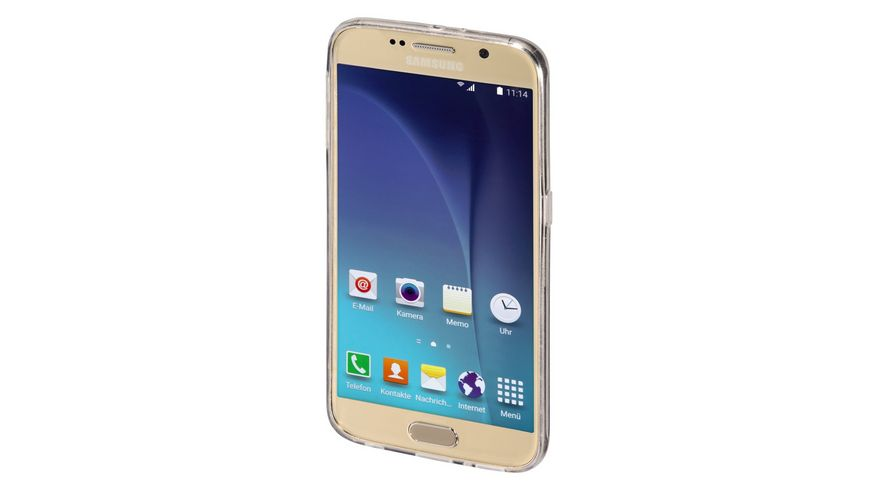 Cover Clear fuer Samsung Galaxy S6 Transparent