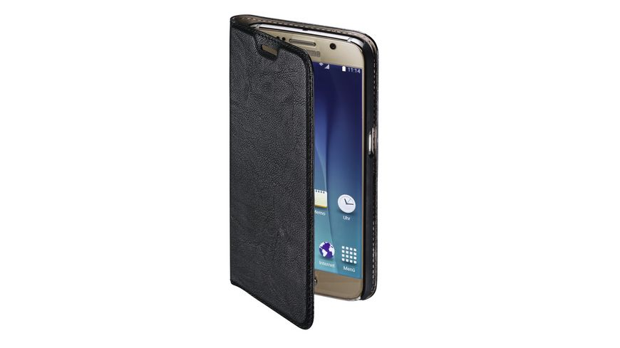 Booklet Guard Case fuer Samsung Galaxy S7 Schwarz