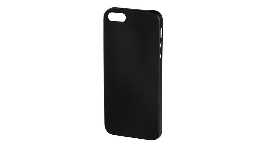 Handy Cover Ultra Slim fuer Apple iPhone 5 5s SE Schwarz