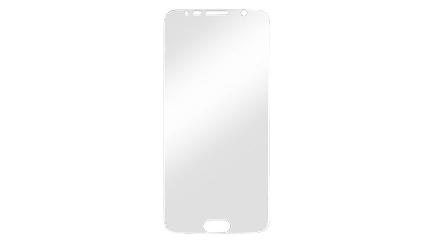 Display Schutzfolie Crystal Clear fuer Samsung Galaxy S6 2 Stueck