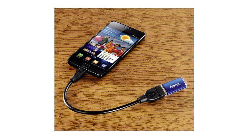USB 2 0 Adapterkabel Micro B Stecker A Buchse