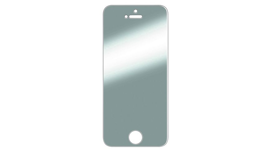 Display Schutzfolie Crystal Clear fuer Apple iPhone 5 5c 5s SE 2 Stueck