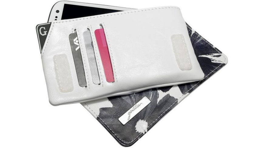 SoftCase Golla Phone Pocket LaDonna White iPhone Smartphone