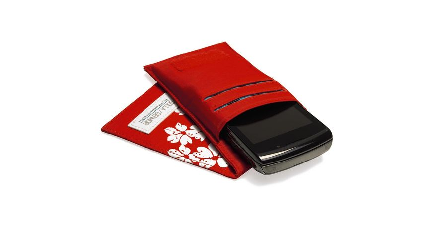 SoftCase Golla Phone Wallet Visby Red iPhone Smartphone