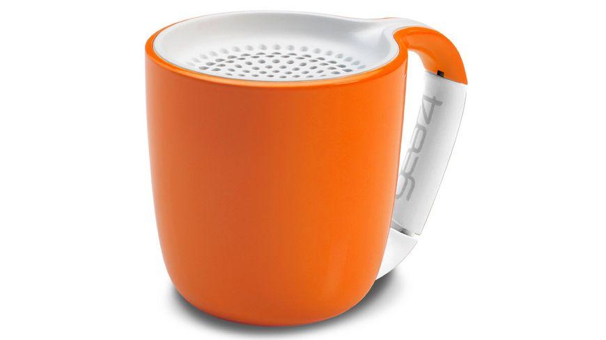 Audiosystem GEAR4 Espresso Bluetooth Orange