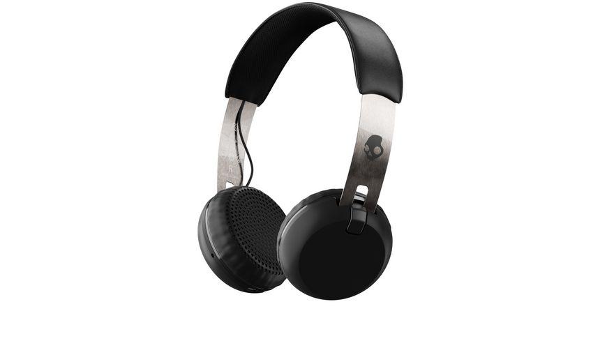 Headset Skullcandy GRIND ON EAR Wireless W TAP TECH BLACK CHROME BLACK