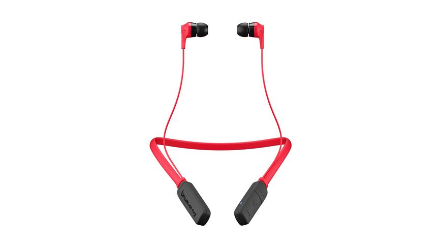 Headset Skullcandy INKD 2 0 BT WIRELESS RED BLACK BLACK