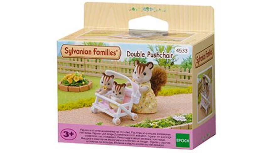 Sylvanian Families Zwillingskinderwagen