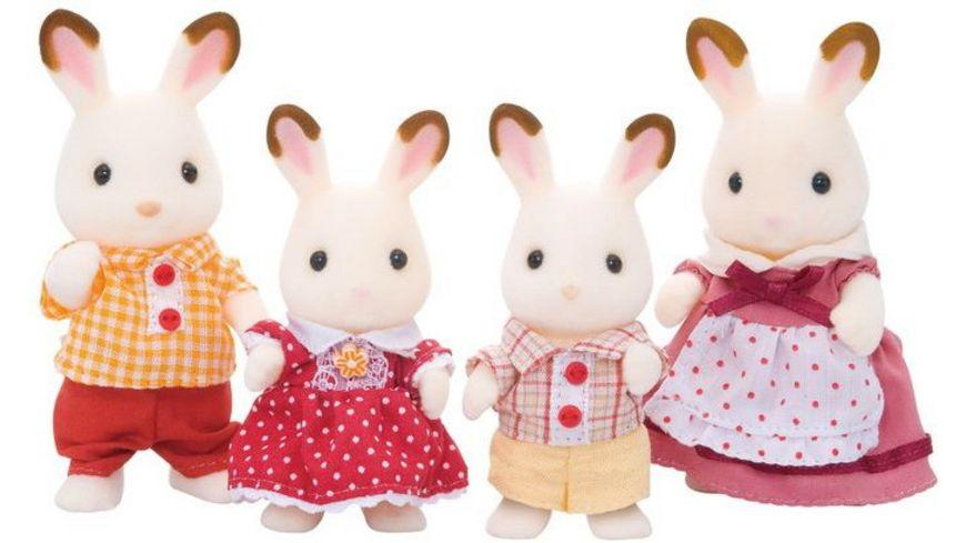 Sylvanian Families Schokoladenhasen Familie Loeffel Puppen