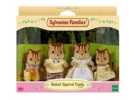 Sylvanian Families Walnuss Eichhoernchen Familie Knacks Pueppchen