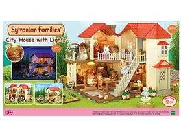 Sylvanian Families Stadthaus mit Licht Puppenhaus