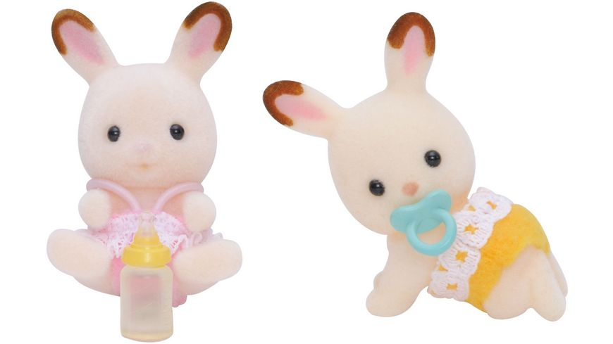 Sylvanian Families Schokoladenhasen Zwillinge Minipuppen