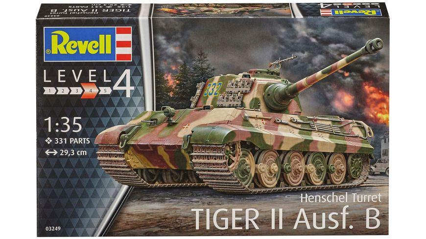 Revell 03249 Henschel Turret TigerII Ausf B