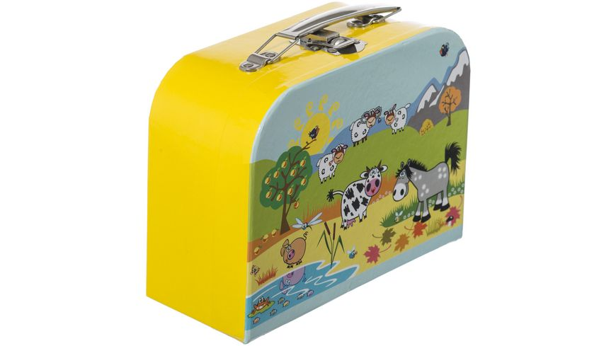 Bieco Koffer Tiermotiv klein