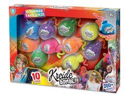 Xtrem Toys Kreide Bombe 10er Set