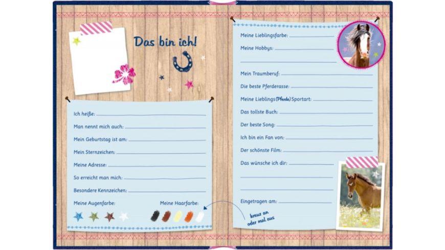 Coppenrath Verlag Freundebuch Pferdefreunde Meine Freundinnen und Freunde