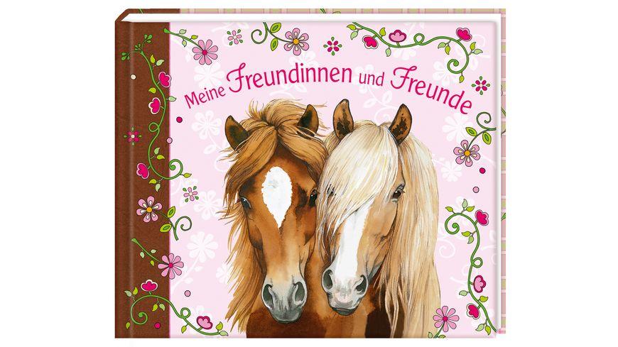 Coppenrath Verlag Meine Freundinnen und Freunde Eintragbuch Pferdefreunde