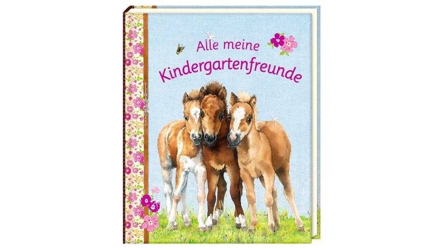 Coppenrath Verlag Freundebuch Alle meine Kindergartenfreunde Pferdefreunde