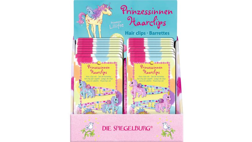 Die Spiegelburg Prinzessinnen Haarclips Prinzessin Lillifee sortiert