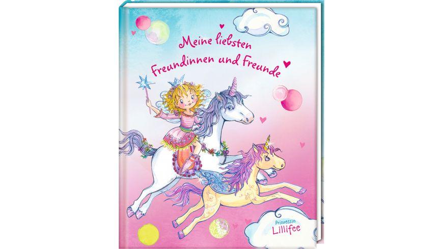 Coppenrath Verlag Freundebuch Meine liebsten Freundinnen u Freunde Lillifee