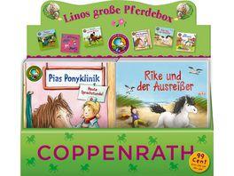 Coppenrath Verlag Lino Buecher Box Nr 58 Linos grosse Pferdebox sortiert